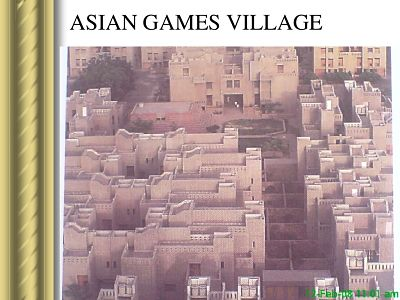 Picture of Asian Games Village complex